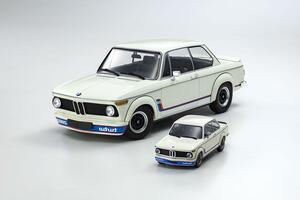 名車BMW2002ターボのモデルカー2サイズがミニチャンプスから発売!