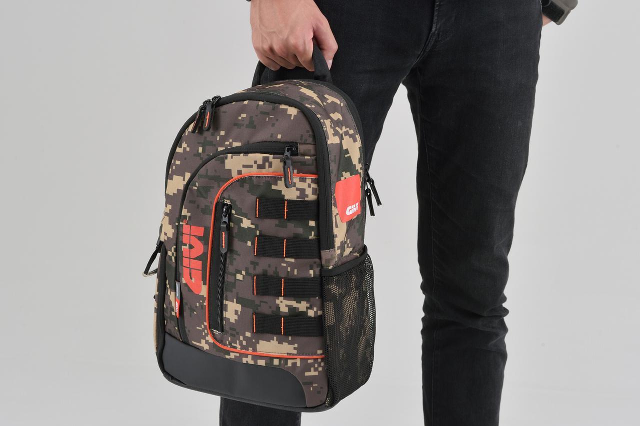 ハードケースだけじゃない! GIVIのツーリング用ワンショルダーバッグが多機能で便利そう!