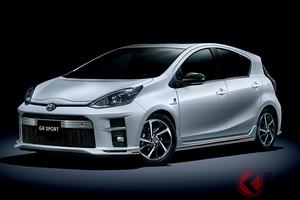 さらにスポーティで軽快に トヨタ「アクア GR SPORT」が進化!
