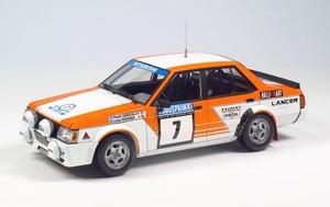 【新製品】WRCでも活躍した三菱ランサー・ターボのラリー仕様をプラモデル化!