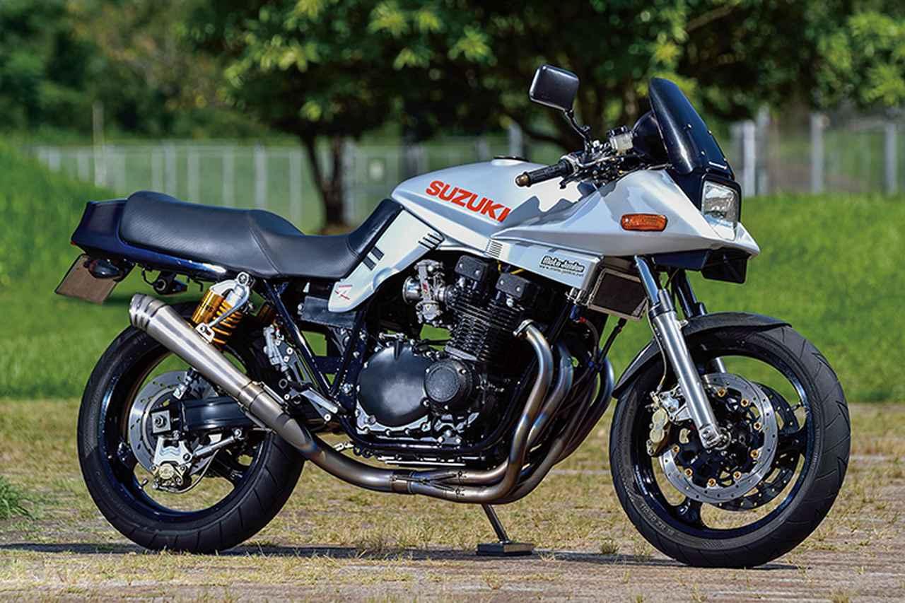 モトジャンキーGSX1100S(スズキGSX1100S)アップデートを重ね、現代車とも楽しく走るカタナ【Heritage&Legends】