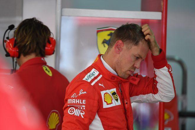 ベッテル「ライバルたちに大差をつけられている。タイヤをうまく使えない」:F1ロシアGP金曜