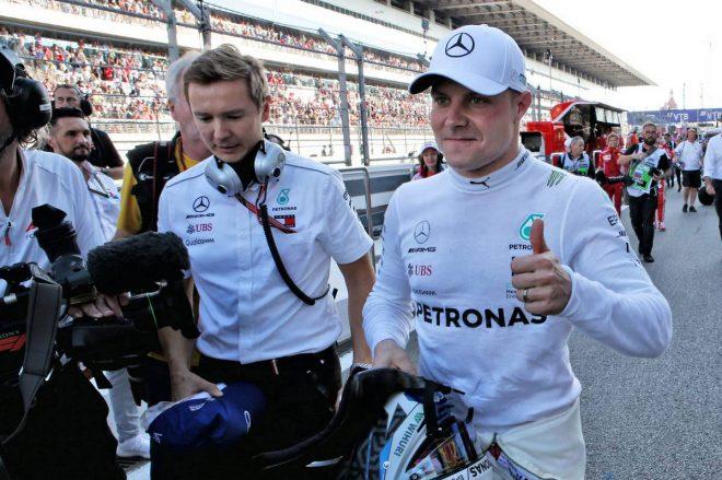 F1ロシアGP予選:ポールポジションはボッタス、ペナルティ確定のトロロッソ・ホンダはアタックせず