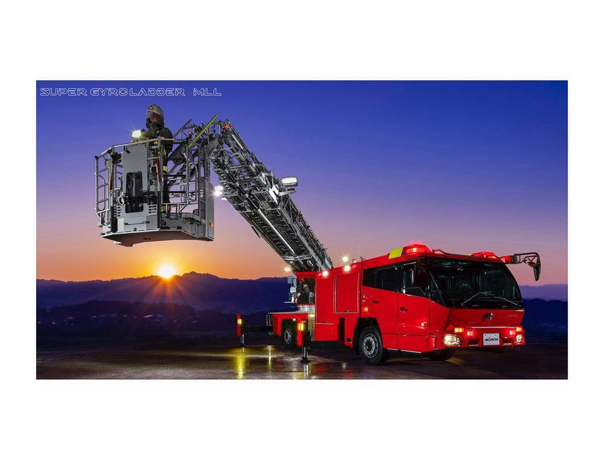 モリタ かっこいい消防車のpc スマホ用壁紙がダウンロードできる ウェブ会議やビデオ通話の背景にも Driver Web 自動車情報サイト 新車 中古車 Carview