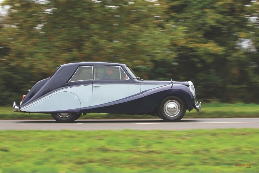 試乗 1954年式 デイムラー・ドーファン 英国上流階級の悲喜こもごも