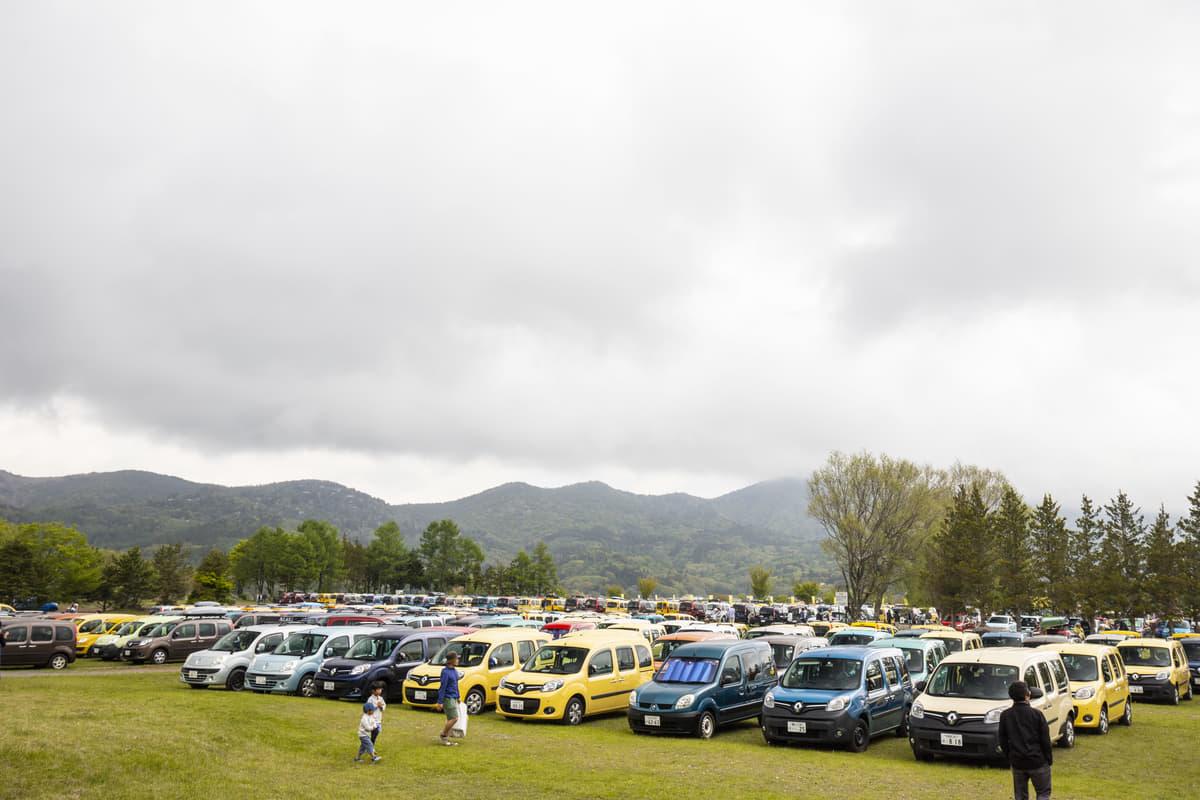 過去最大の1714台が集結!ルノー カングー ジャンボリー開催