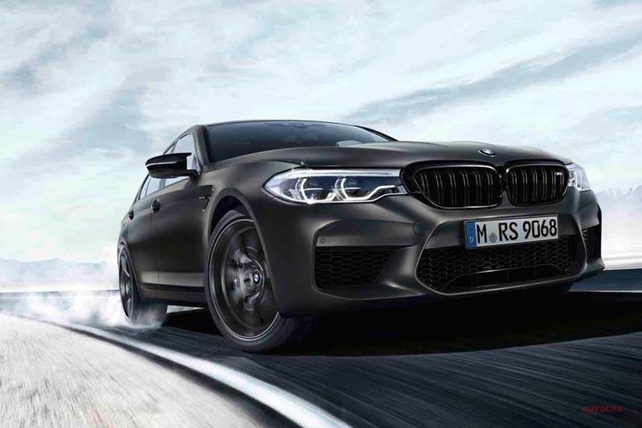 BMW M5 35年記念モデル 世界350台限定 625psのM5コンペティションがベース