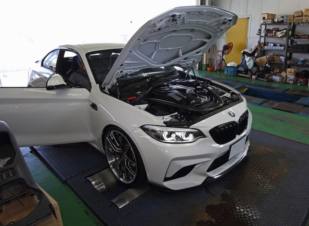 「ECUチューンだけで約160馬力アップ!?」BMW M2コンペティションの恐るべきチューニング適合度に迫る!