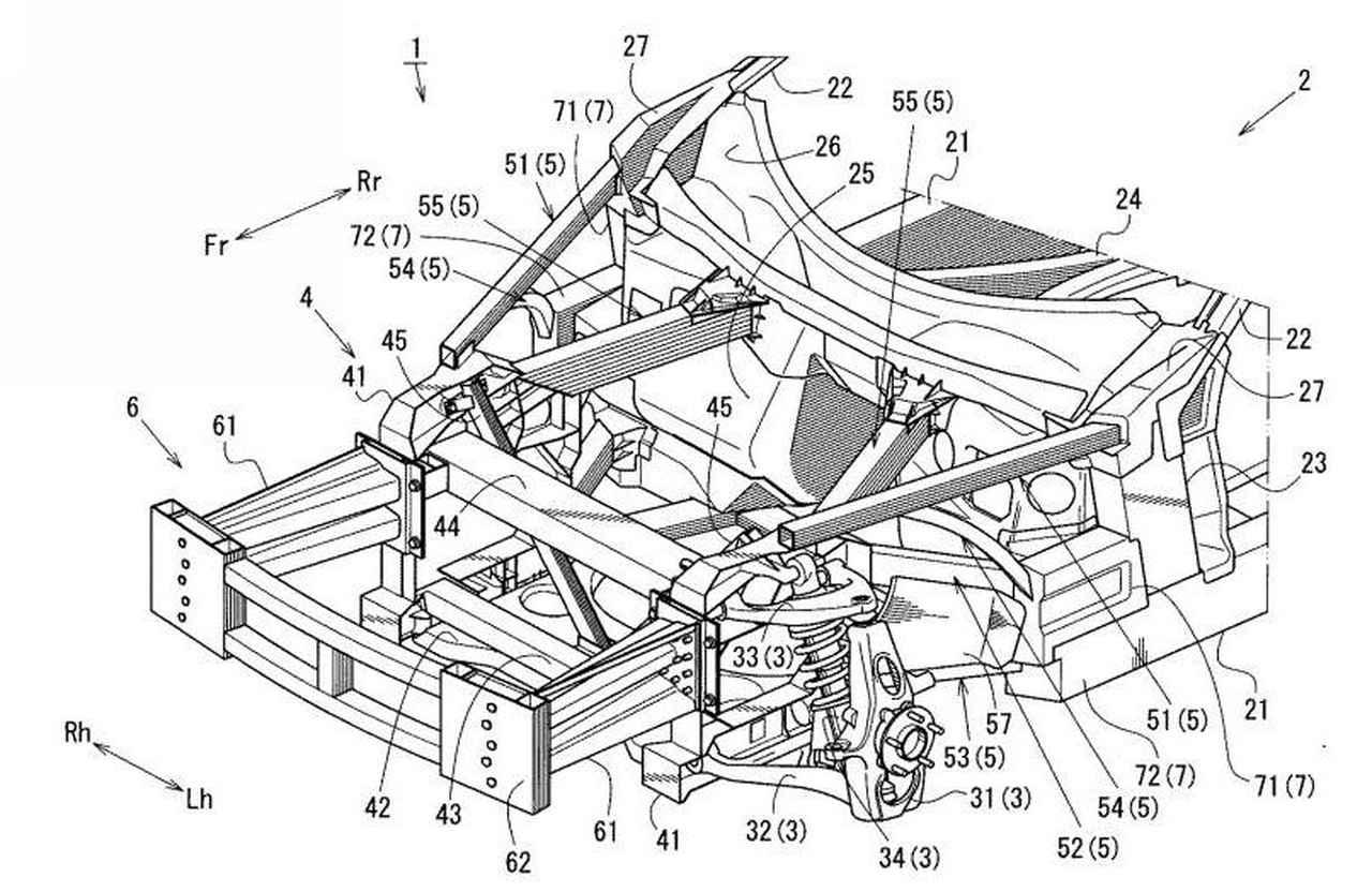 【スクープ】専用スペースフレーム採用か!? 特許公開でわかったRX-9の開発進捗状況