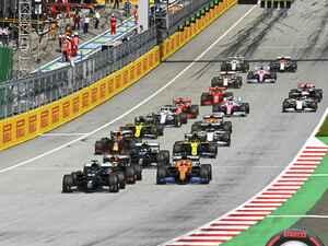 F1第2戦シュタイアマルクGP、レッドブル・ホンダが3、4位、タイトル争いに黄信号【モータースポーツ】