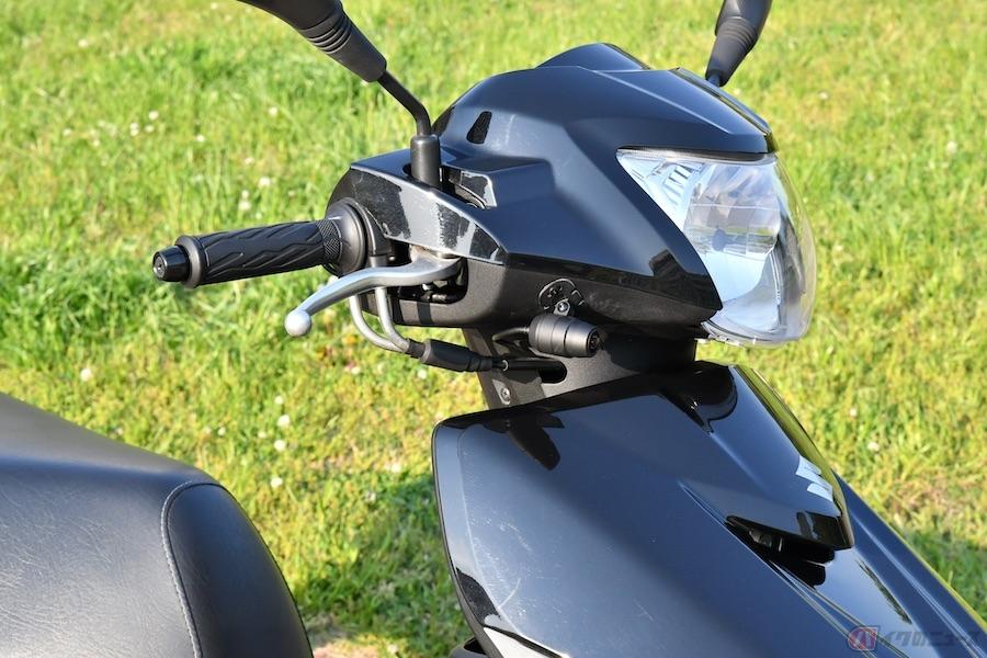 日常の足でフル稼働する原2スクーター「アドレス125」にドラレコを装着!