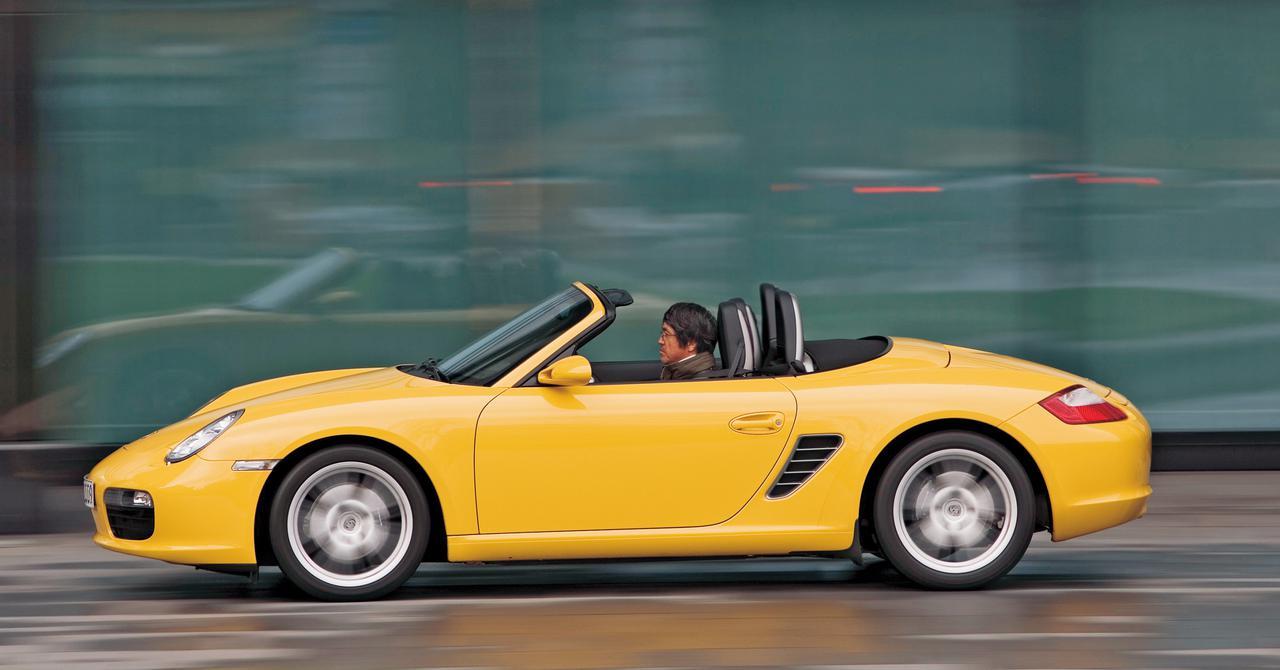 【ヒットの法則292】ポルシェ ボクスターは2007年モデルでパワーアップして、いっそう魅力的に