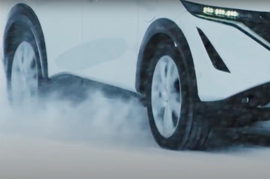【予告】日産アリア SUVの新型EV 7月15日オンラインで発表