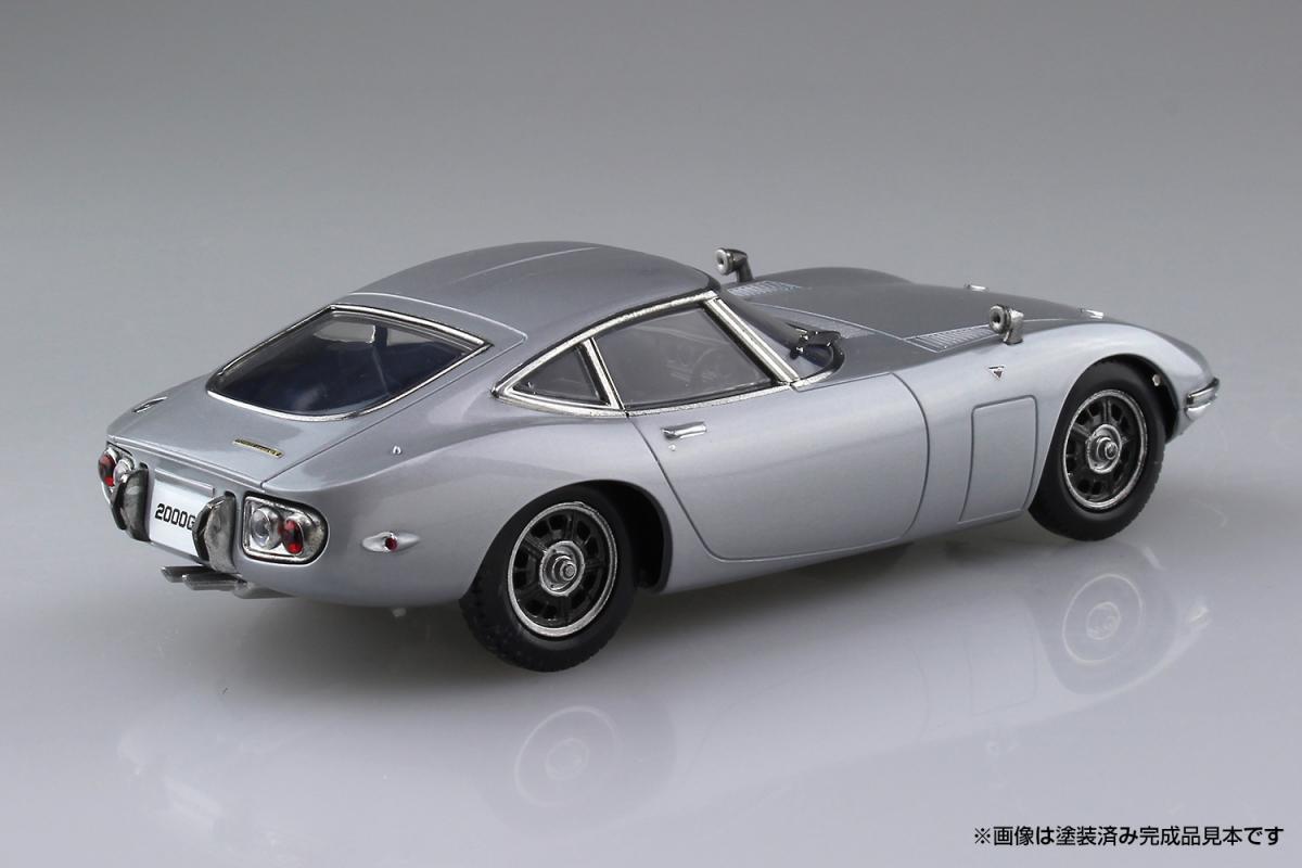 アオシマの手軽に作れるプラモデルの最新作は人気ミニバンと往年の名車!