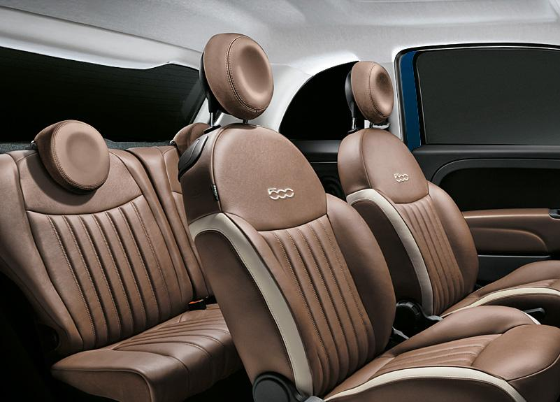 専用ボディーカラーを採用! フィアット500に限定モデル「 Zaffiro」が登場
