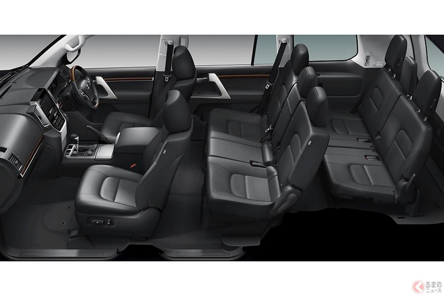 存在感バツグン! トヨタ「ランクル」など全長5m級のプレミアムSUV5選