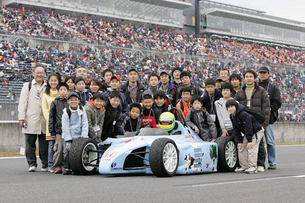 【募集】ギネスに挑戦!子どもたち100人とサーキットを走ろう!! ファンディングプロジェクト 日本EVクラブ