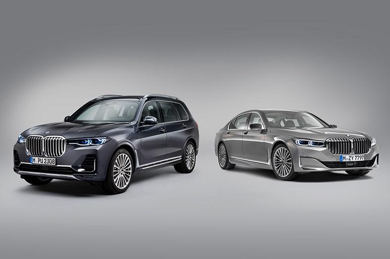 BMW 7シリーズが化粧直しでX7風の迫力顔に。中国好みのテイストも