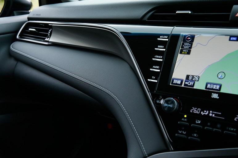 カムリWSはスポーツ度高めの逆輸入車気分が新鮮。車線中央維持機能がほしい