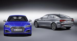 アウディ 新型A5/S5 Sportsbackをパリモーターショーで発表、代替燃料も可