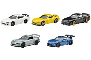 ホットウィールから日本のチューニングカーをモチーフにしたミニカー5種を発売