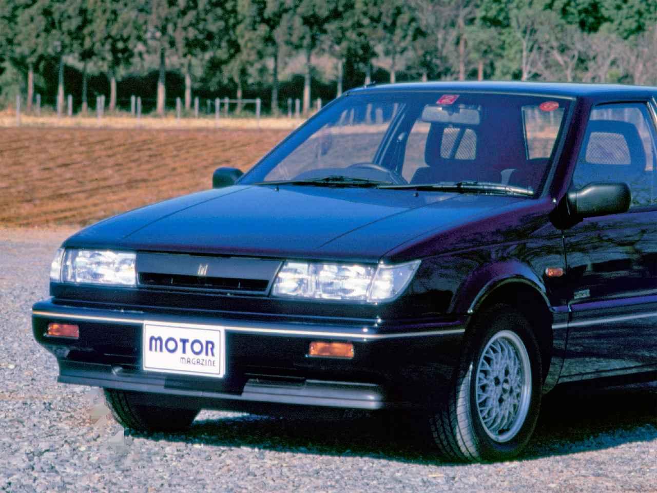 【昭和の名車 106】いすゞ ジェミニZZ ハンドリングbyロータス:昭和63年(1988年)
