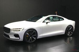 ポールスター1発表 600psのハイブリッドGTクーペ【実車写真】