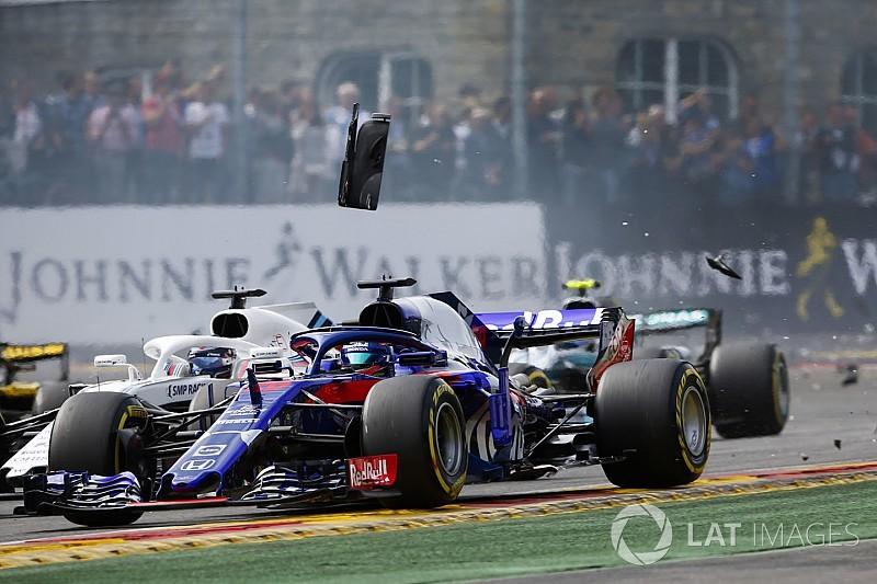 スタート混乱の影響で出遅れ、入賞チャンス逃す……ガスリーのサポートに徹したトロロッソ・ホンダのハートレー|F1ベルギーGP