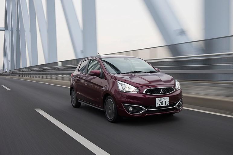 ミラージュ改良版に試乗。フォードよ見ろ、これぞ日本最良心的ガイシャの姿だ