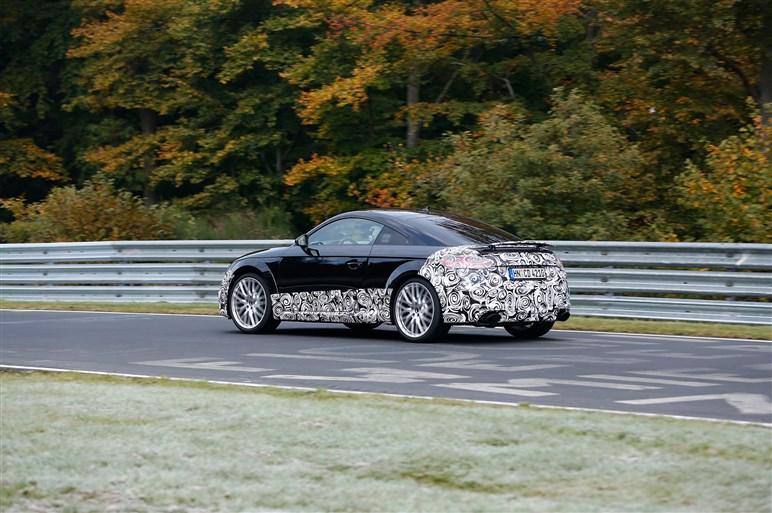 新型アウディTT、頂点モデル「TT RS」の準備も着々