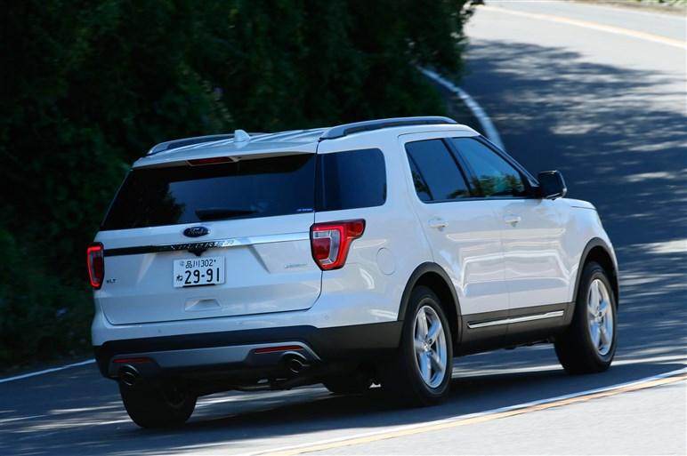大幅改良のフォード エクスプローラーに試乗。競合相手は大型ミニバン?