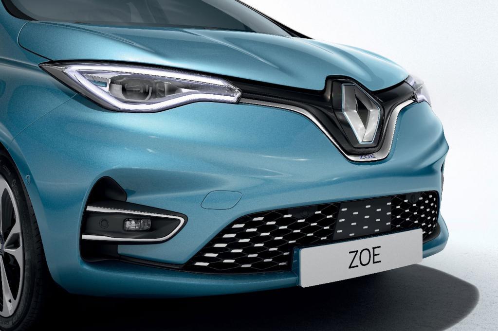 ルノーがコンパクトEVの「ZOE」を一新! 最大航続距離は390kmを実現