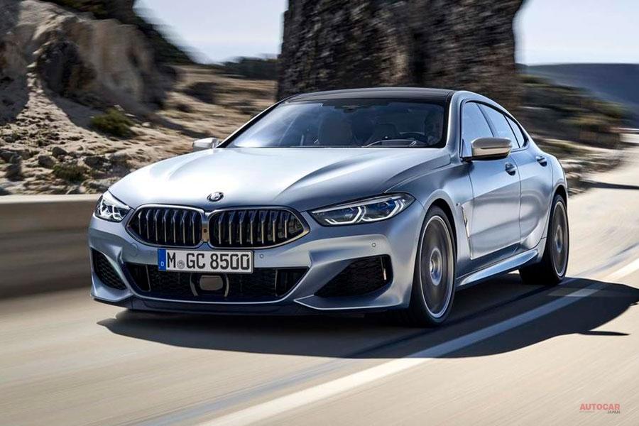正式発表 BMW 8シリーズ・グランクーペ 840i/840d/M850iの3種 M8も追加へ