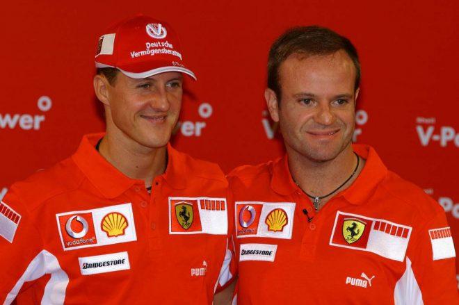 元F1ドライバーのバリチェロ、シューマッハーとのフェラーリ時代を語る「チームは彼のものだと感じた」