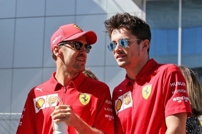 フェラーリF1代表、ベッテルとルクレールは「一触即発の状態ではない」と緊張関係を否定