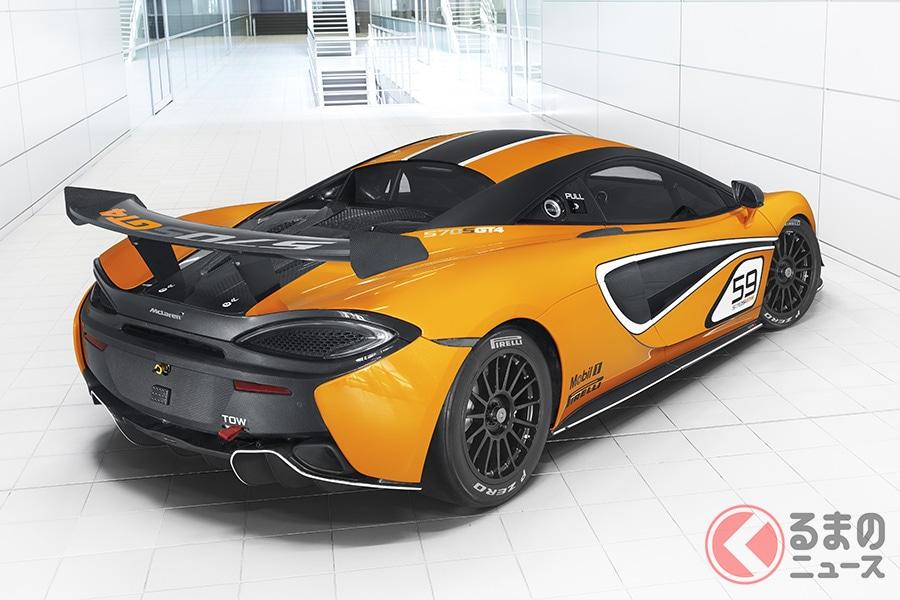 3600万円あれば買い!? マクラーレンのレーシングカー「570S GT4」を公道走行可能にした「620R」発売