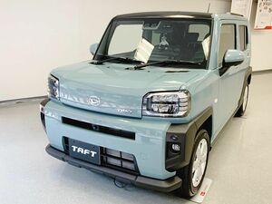 ダイハツ「タフト」出足好調 1カ月受注が月販目標の4.5倍 ターボ車が4割