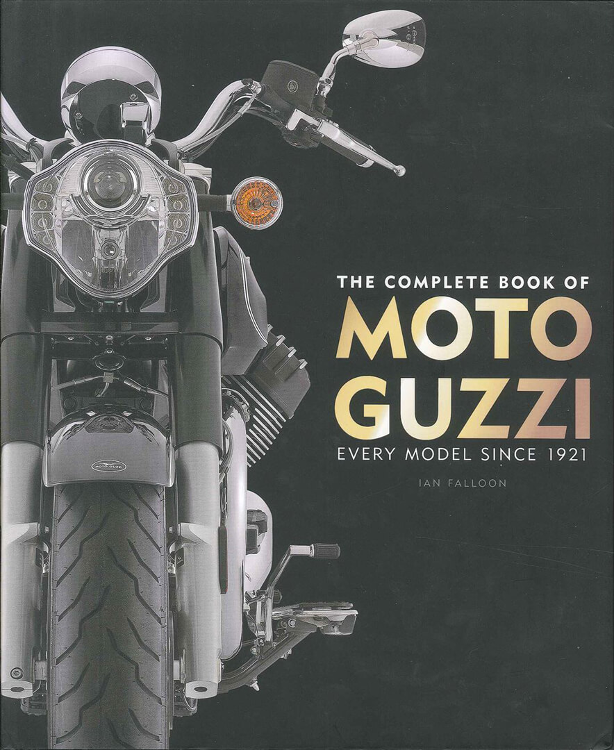 イタリアで最も歴史あるブランド「モトグッチ」の歴代モデルにスポットを当てた大判写真集【新書紹介】