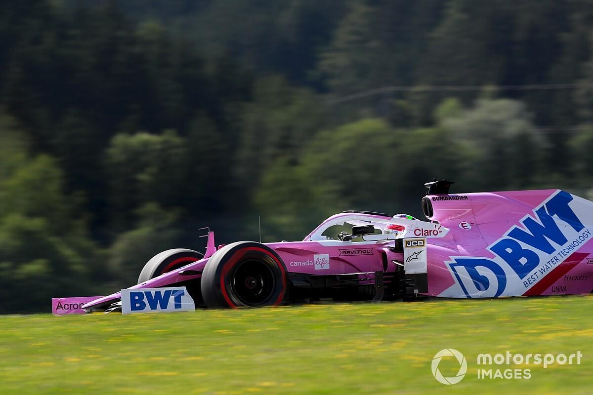 レーシングポイントの速さはやっぱりホンモノ? FP1首位のペレス「トップチームとの差は近い」