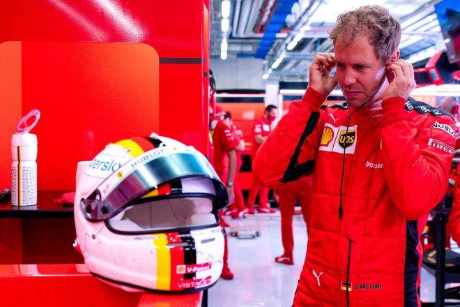 ベッテル「実際は16番手じゃない。アップデートでマシンがすごく良くなった」フェラーリ F1シュタイアーマルクGP金曜