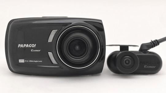 前後2カメラ、フルHD画質、Gセンサー、GPS、WDRの全部入り!2万5000円で買えるPAPAGOのドライブレコーダー「GoSafe S36GS1max」