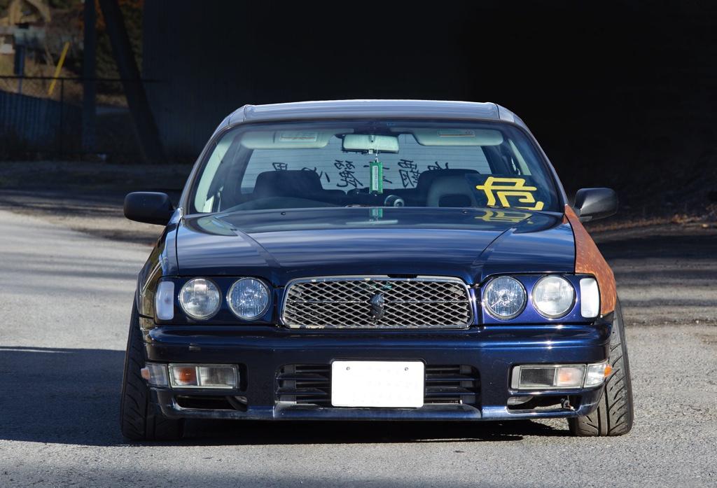 「前から見るとY33セドリックのグランツだけど・・・」シャコタンドリフトを追求するプライベーターの意欲作!