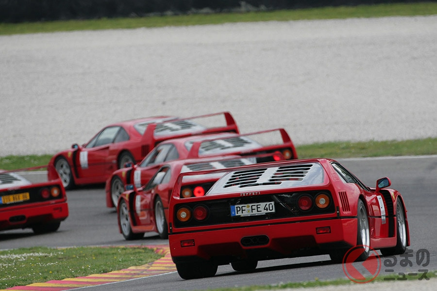「走る不動産」と呼ばれたフェラーリ「F40」 なぜそこまでの名車になったのか