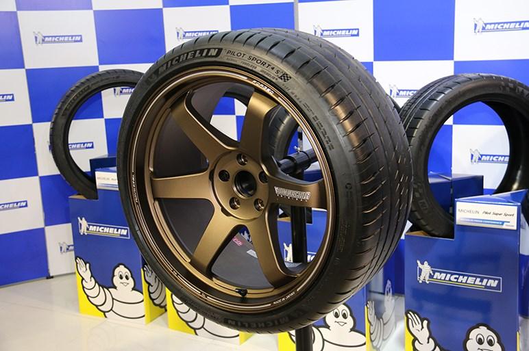 ミシュランのハイパフォーマンスタイヤ「パイロット スポーツ 4 S」発表
