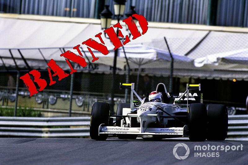 """F1で使用禁止になった""""画期的""""デバイス1:ティレルが97年に導入……各チームが追従したXウイング"""