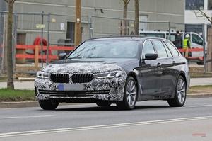 【新しいスパイ画像】新型BMW 5シリーズ フェイスリフト 2020年後半発売 欧州