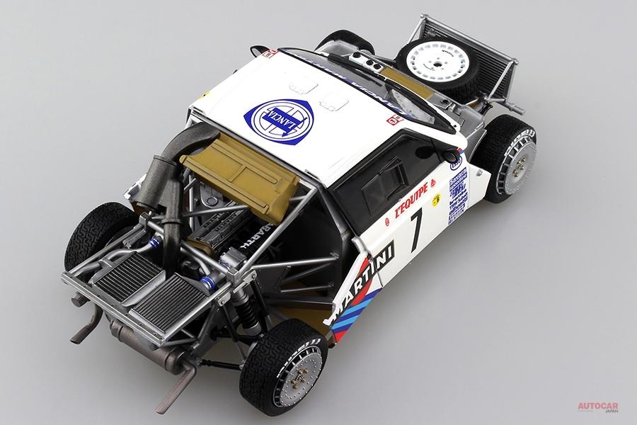 1/24スケール・モデル ランチア・デルタS4を再生産 青島文化教材社