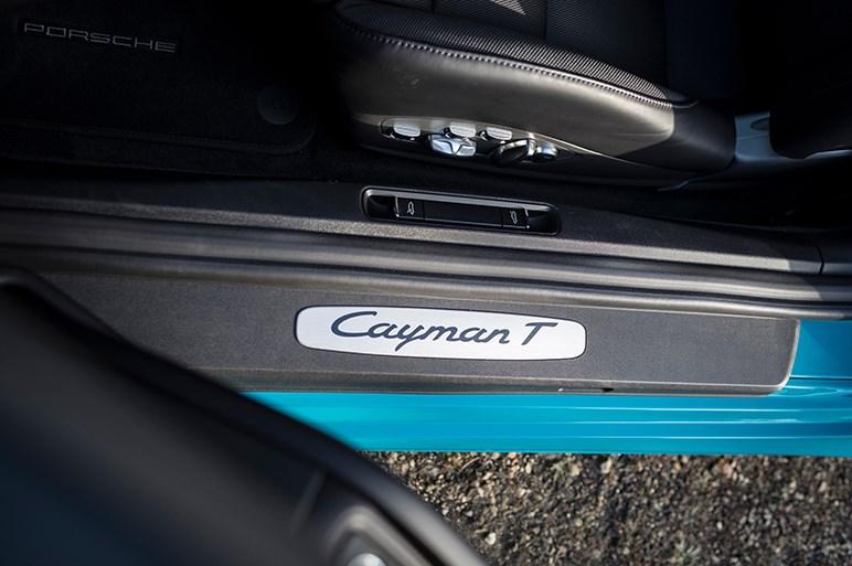 718ボクスター&ケイマンの新種Tモデルはノーマル以上、Sモデル以下で足回りを主にチューン