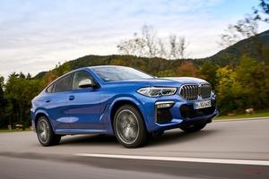 3代目大型SUVクーペ BMW X6 M50iに試乗 530ps 乗り心地以外は大進化