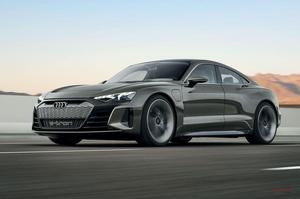 アウディ製EVのフラッグシップ アウディeトロン GT 2020年のLAで発表